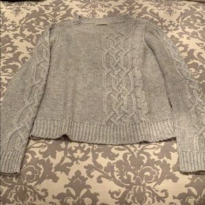 Hinge Cable Knit Sweater